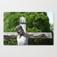 jesus Canvas Prints featuring Jesus by Marieken