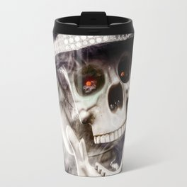 The Dapper Skeleton Travel Mug