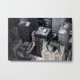 BUILDINGS - CITY - PHOTOGRAPHY Metal Print