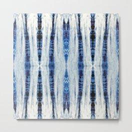 Nori Blue Metal Print