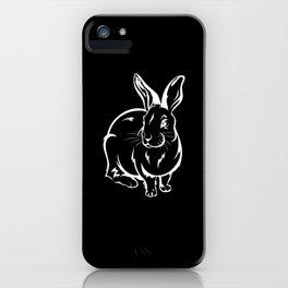 Bunny Rabbit Rabbit Friend Gift iPhone Case