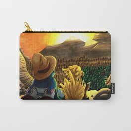 Above the Black Mage Village Carry-All Pouch