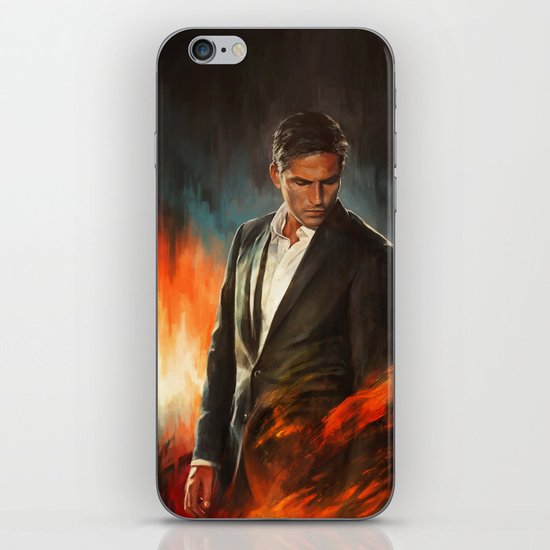 He Who Fights Monsters iPhone & iPod Skin