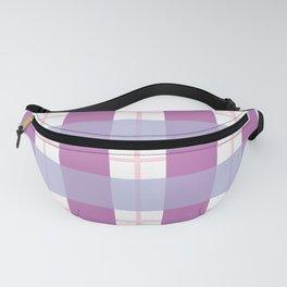 Purple Stripe Pattern Fanny Pack