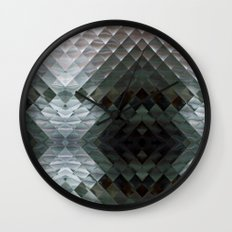 Checkers Wall Clock