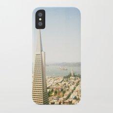 Transamerica Pyramid, San Francisco iPhone X Slim Case