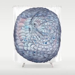 Pangolin Shower Curtain