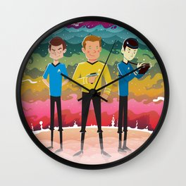 Strange New Worlds Wall Clock