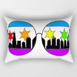 chicaGOggles Pride Rectangular Pillow