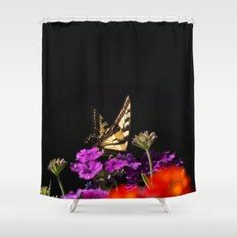 Garden Swallowtail Shower Curtain