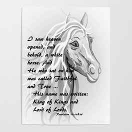White Horse of a King Poster