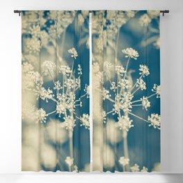 Indigo Dill Botanical Study 2 Blackout Curtain