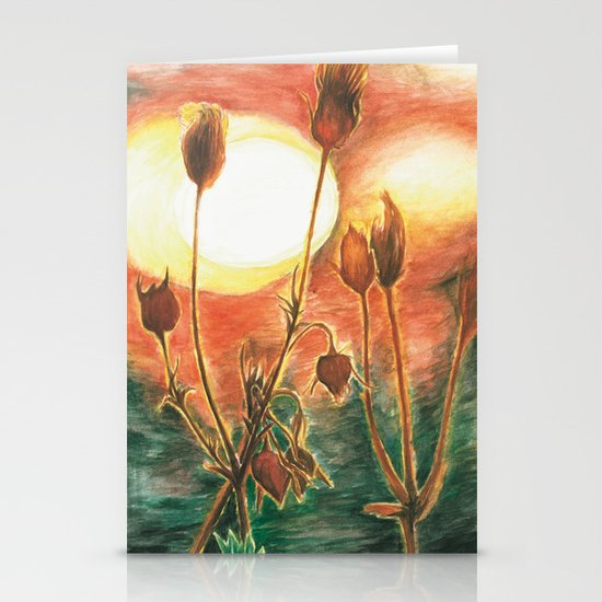Prairie Sunset Stationery Cards