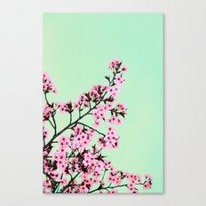 GREEN HONEY Canvas Print