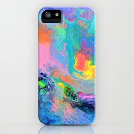 Fusion - Fluid Abstract Art iPhone Case
