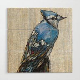 Blue Jay Wood Wall Art