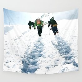 Going up Wall Tapestry