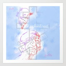 Made in Holland no. 2 Art Print