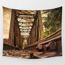 Railroad Bridge Wall Tapestry