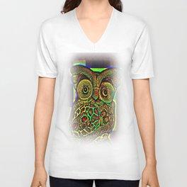 Owls views Unisex V-Neck