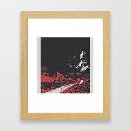 Dawn's Highway Bleeding - The Doors Framed Art Print