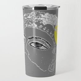 Mask on moonlight Travel Mug