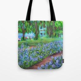 Monet's Garden AC20110715a Tote Bag