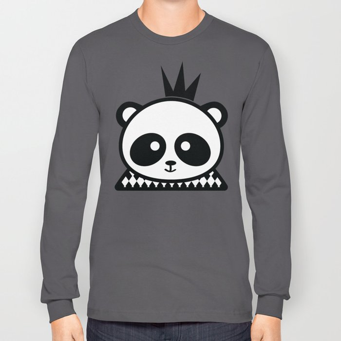 Panda Prince Long Sleeve T-shirt