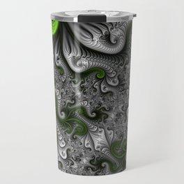 Fantasy World, abstract Fractal Art Travel Mug