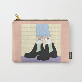 Outside - Illustration Carry-All Pouch