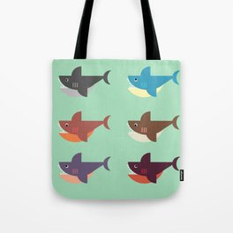 Snarky Sharky Tote Bag