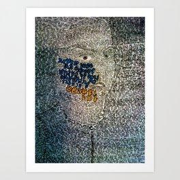 See Something Beautiful  Art Print
