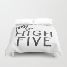 High Five Duvet Cover