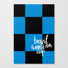 Brazil World Cup 2014 - Poster n°7 Canvas Print