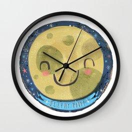 Sleepy Time! Wall Clock