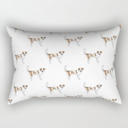 Lunchbox the Dog Rectangular Pillow