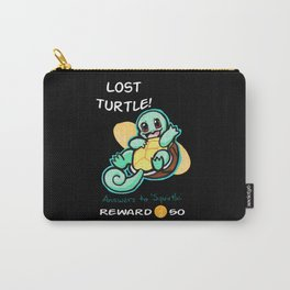 Lost Turtle- Reward Carry-All Pouch
