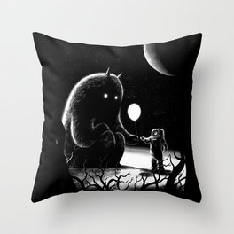 The Guest Throw Pillow