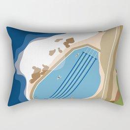 Bronte Baths Ocean Pool Sydney Australia  Rectangular Pillow