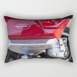 Moto Guzzi Stelvio Rectangular Pillow
