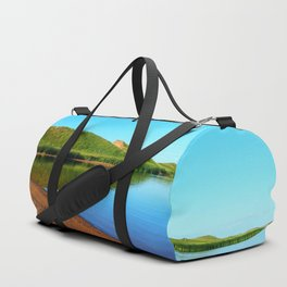 Sand Dunes Reflected Duffle Bag