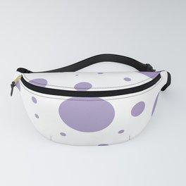 Lavender Bubbles Print Fanny Pack