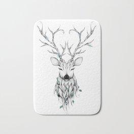 Poetic Deer Bath Mat