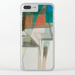 Stilt House 1 Clear iPhone Case