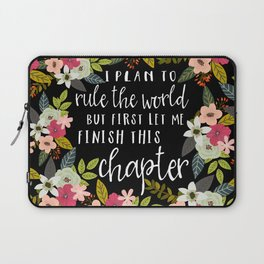 Plan To Rule The World Laptop Sleeve