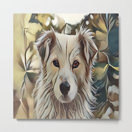 The Catahoula Leopard Dog Metal Print