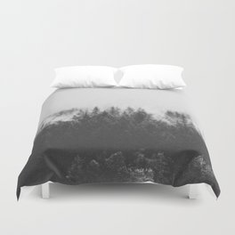 INTO THE WILD III / Black Forest Duvet Cover