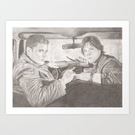 The Winchester Brothers Art Print