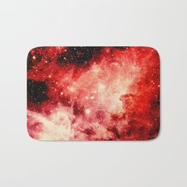 Red Carina Nebula Bath Mat