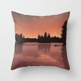 Quetico Provincial Park Throw Pillow